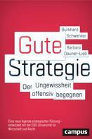Burkhard Schwenker: Gute Strategie