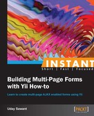 Uday Sawant: Instant Building Multi-Page Forms with Yii How-to