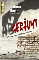 Sabine Hartmann: Abgeräumt oder niemand lügt für sich allein ★★★★