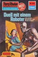 H.G. Francis: Perry Rhodan 919: Duell mit einem Roboter ★★★★★