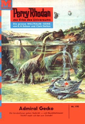 Perry Rhodan 190: Admiral Gecko
