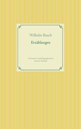 Erzählungen - Prosatexte, Autobiographisches und ein Gedicht