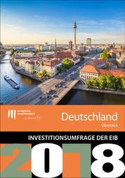 Umfrage der EIB zur Investitionstätigkeit – Überblick für Deutschland