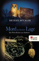 Michael Böckler: Mord in bester Lage ★★★★