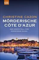 Christine Cazon: Mörderische Côte d´Azur ★★★★