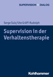 Supervision in der Verhaltenstherapie