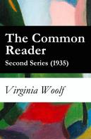 Virginia Woolf: The Common Reader - Second Series (1935)