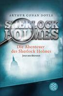 Arthur Conan Doyle: Die Abenteuer des Sherlock Holmes ★★★