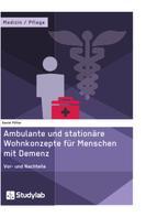 Daniel Pötter: Ambulante und stationäre Wohnkonzepte für Menschen mit Demenz