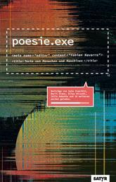 poesie.exe - Texte von Menschen und Maschinen
