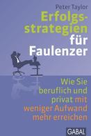 Peter Taylor: Erfolgsstrategien für Faulenzer ★★★