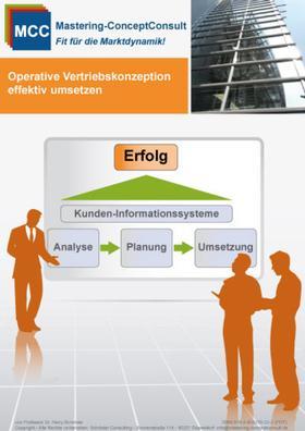 Operative Vertriebskonzeptionen effektiv umsetzen