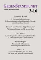 GegenStandpunkt Verlag München: GegenStandpunkt 3-16