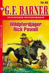G.F. Barner 42 – Western - Wildpferdjäger Rick Powell