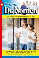 Patricia Vandenberg: Familie Dr. Norden 710 – Arztroman