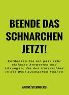 André Sternberg: Beende das Schnarchen jetzt!