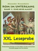 Alexander Kronenheim: XXL LESEPROBE - Rom im Untergang Band 1: Eine neue Macht