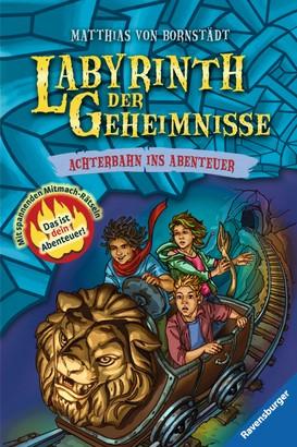Labyrinth der Geheimnisse 1: Achterbahn ins Abenteuer