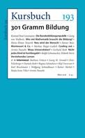 Peter Felixberger: Kursbuch 193