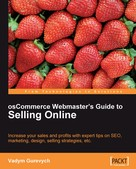 Vadym Gurevych: osCommerce Webmaster's Guide to Selling Online