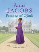 Anna Jacobs: Persons of Rank ★★★★★
