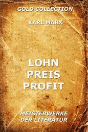 Lohn, Preis, Profit