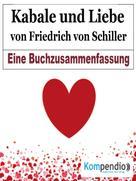 Robert Sasse: Kabale und Liebe von Friedrich von Schiller