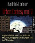 Hendrik M. Bekker: Urban Fantasy mal 3 ★★★