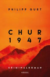 Chur 1947 (orange) - Kriminalroman