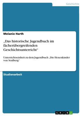 """""""Das historische Jugendbuch im fächerübergreifenden Geschichtsunterricht"""""""
