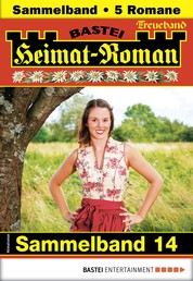 Heimat-Roman Treueband 14 - Sammelband - 5 Romane in einem Band