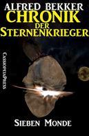 Alfred Bekker: Chronik der Sternenkrieger 2 - Sieben Monde ★★★★