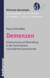 Demenzen - Untersuchung und Behandlung in der Facharztpraxis und Gedächtnissprechstunde