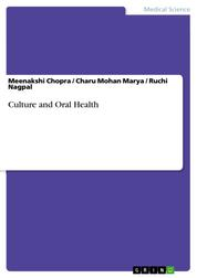 Culture and Oral Health