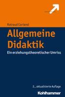 Rotraud Coriand: Allgemeine Didaktik ★★★★