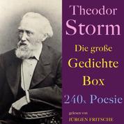 Theodor Storm: Die große Gedichte Box - 240 x Poesie