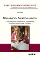Vera Knoll: Elternarbeit und Französischunterricht