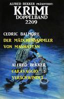 Alfred Bekker: Krimi Doppelband 2209