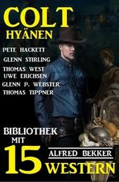 Colt-Hyänen: Bibliothek mit 15 Western
