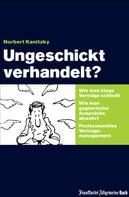 Norbert Kanitzky: Ungeschickt verhandelt?