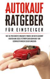 Autokauf Ratgeber für Einsteiger: Wie Sie preiswerte Angebote finden, Ihr Auto gekonnt kaufen und jedes Fettnäpfchen beim Kauf von Gebrauchtwagen sicher umgehen