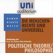 Die Menschenrechte sind universell - Vorlesung