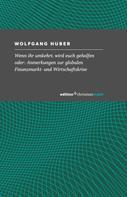 Wolfgang Huber: Wenn ihr umkehrt, wird euch geholfen
