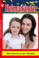 Ute Amber: Heimatkinder 48 – Heimatroman