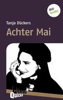 Tanja Dückers: Achter Mai - Literatur-Quickie