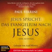 Jesus spricht: Das Evangelium nach Jesus. Ein neues Testament für unsere Zeit (Gekürzt)
