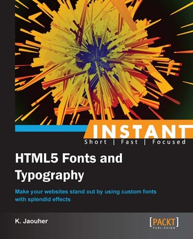 Instant HTML5 Fonts and Typography