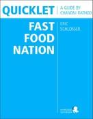 Chandni Rathod: Quicklet on Eric Schlosser's Fast Food Nation