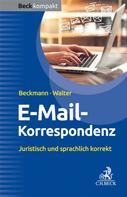 Edmund Beckmann: E-Mail-Korrespondenz
