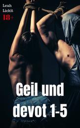 Geil und devot 1-5 - BDSM Sammelband